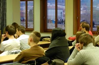 Зустріч зі студентами в ČVUT - січень 2012