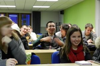 Зустріч зі студентами в ČZU - грудень 2012