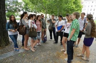 Екскурсія по Університету Економіки (VŠE) - липень 2012