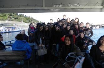 Екскурсія на теплоході - вересень 2012