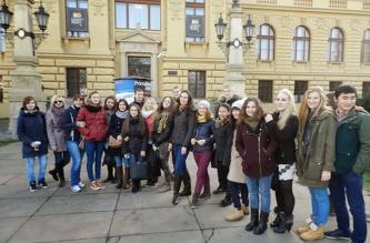 Экскурсия в музей Праги - ноябрь 2013