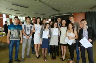Вручение сертификатов ČZU - июнь 2013