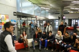 День открытых дверей в чешском Технологическом университете - ноябрь 2013