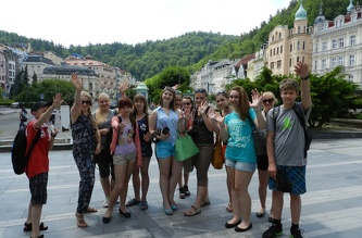 Экскурсия в Карловы Вары - июнь 2013