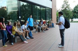 Экскурсия в ČVUT - август  2013