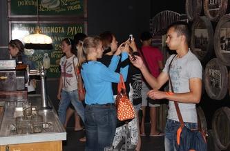 Экскурсия на пивной завод Kozel - август 2013