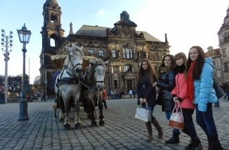 Поездка на рождественские ярмарки в Дрезден - декабрь 2013