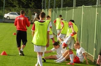Футбольная тренировка - июль 2013