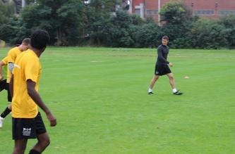 Футбольная тренировка  - август 2013