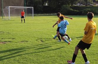 Футбольный Матч - август  2013