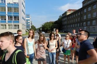Экскурсия в ČVUT - июль 2013
