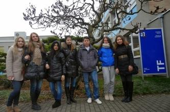 Экскурсия по Чешскому Аграрному Университету (ČZU) - декабрь 2013