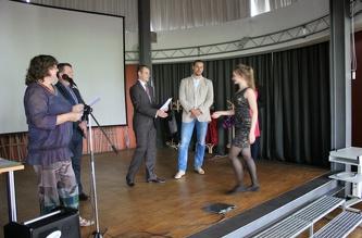 Вручення сертифікатів ČZU - червень 2014