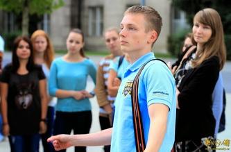Екскурсія в ČVUT - серпень 2014