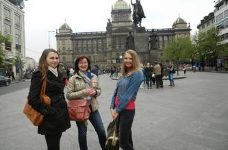 Екскурсія Старе місто в Празі для піврічного курсу - квітень 2014