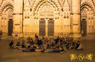 Night walk around Prague - July 2015