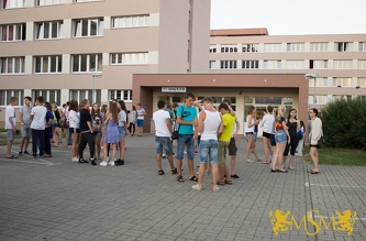 Meeting of Students with Counselors - July 2015