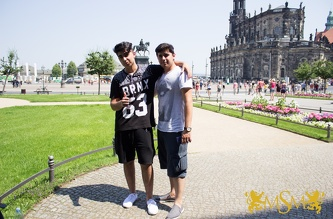 Trip to Dresden - July 2015