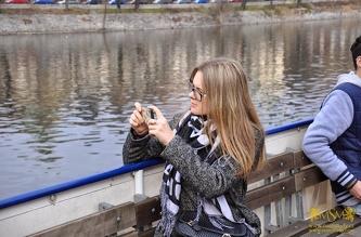 Vltava River Boat Tour  - February 2015