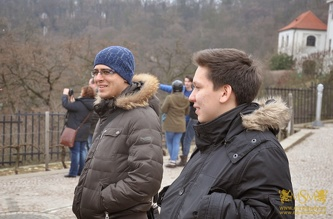 Guided Tour in Prague - February 2015