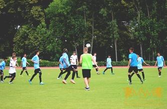 Товарищеский матч между командами футбольной академии MSM