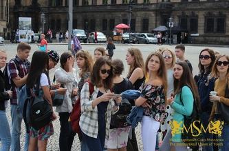 Студенты МСМ отправились на экскурсию в Дрезден