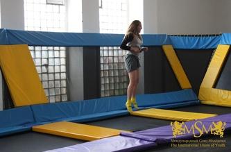 Посещение Jump Park'a Праги