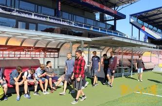 Экскурсия на стадион Arena Sparta