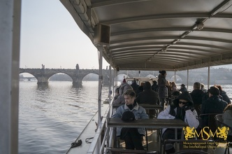 Прогулка на теплоходе по реке Влтава