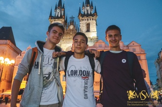 Прогулка по ночной Праге