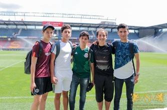 Экскурсия в футбольный клуб «Спарта», июль 2018
