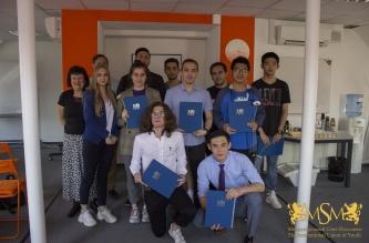 Certificate Awards CTU English Course