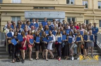 Certificate Awards CTU Czech Course
